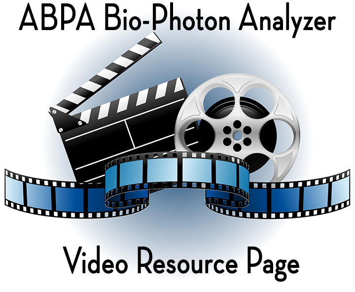ABPA A2 and AM3 Bio-Photon Analyzer Video Page